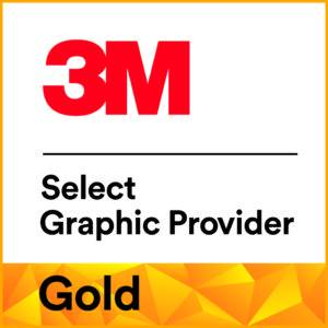 3M Select Graphic Provider Gold Logo