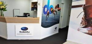 Digitally printed wall vinyl