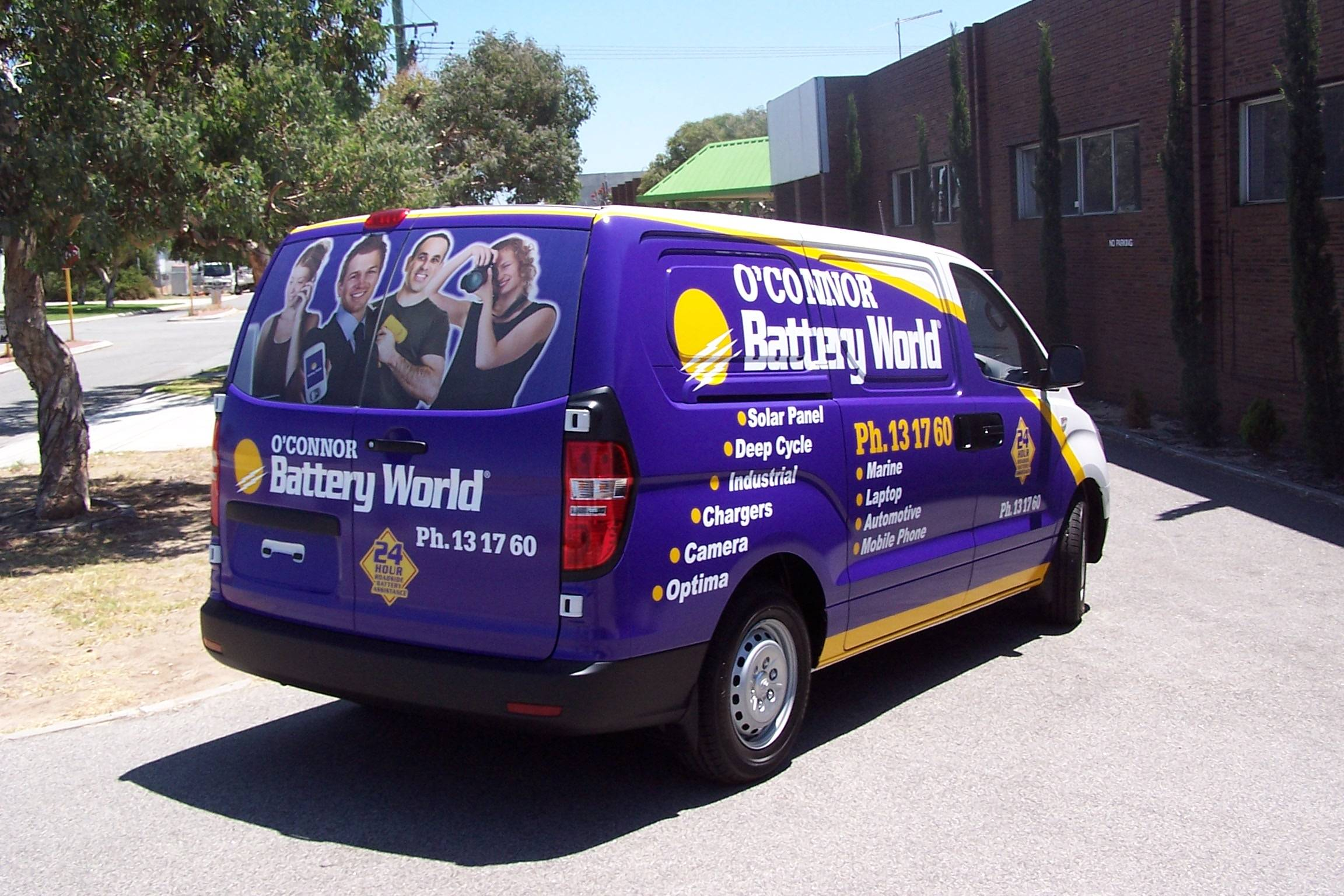 3/4 Vehicle Wrap for Brand Identity