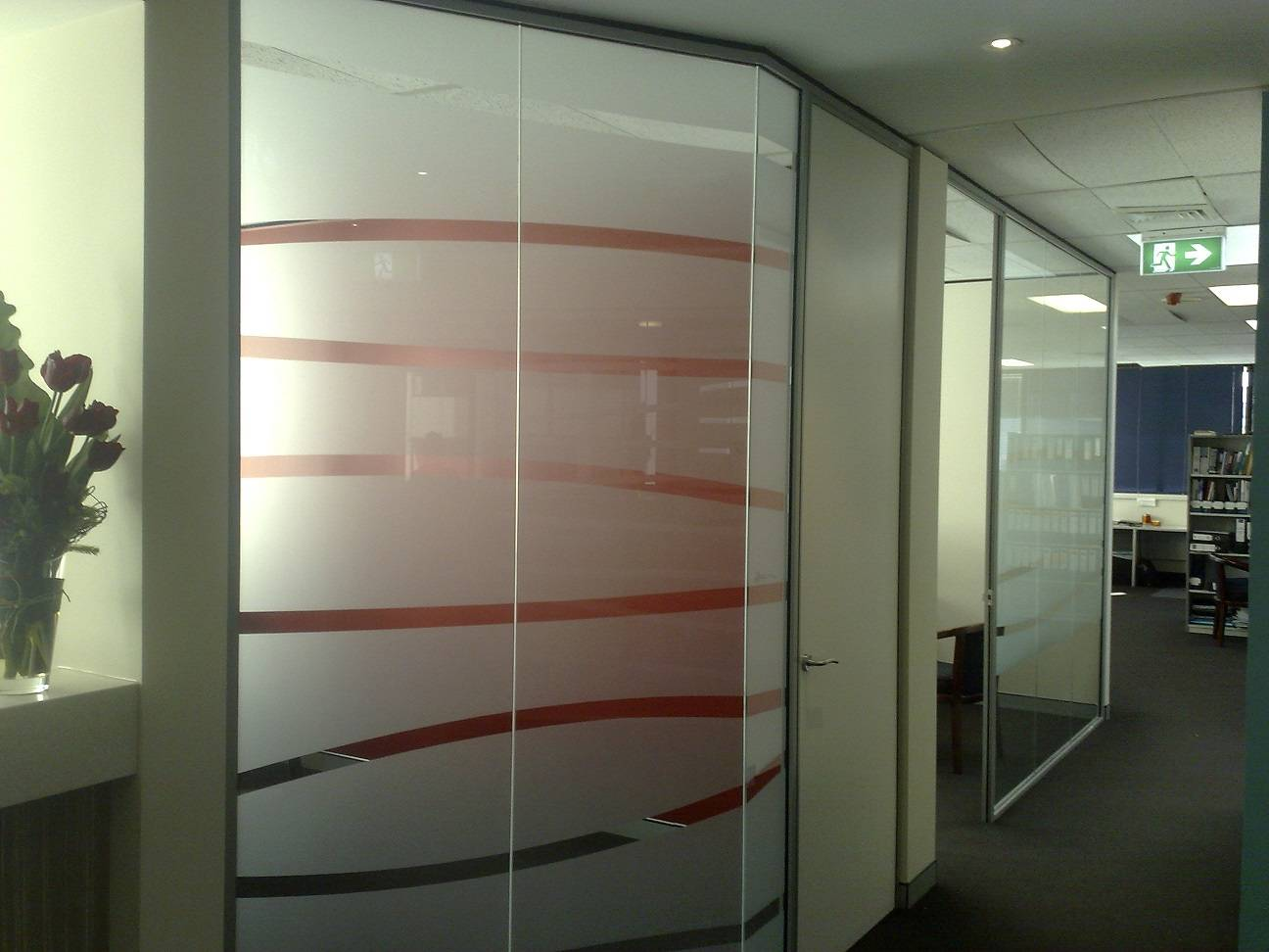 Computer Cut Frosted film for Office Partition