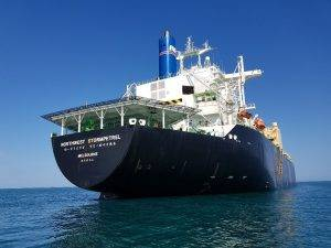 Shell LNG Tanker