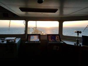 Security Window Film installed on windows of Shell Tanker