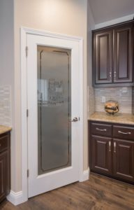 Frosted Glass Design Kitchen Pantry