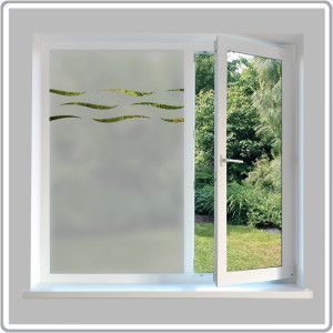 Frosted Glass Design Window