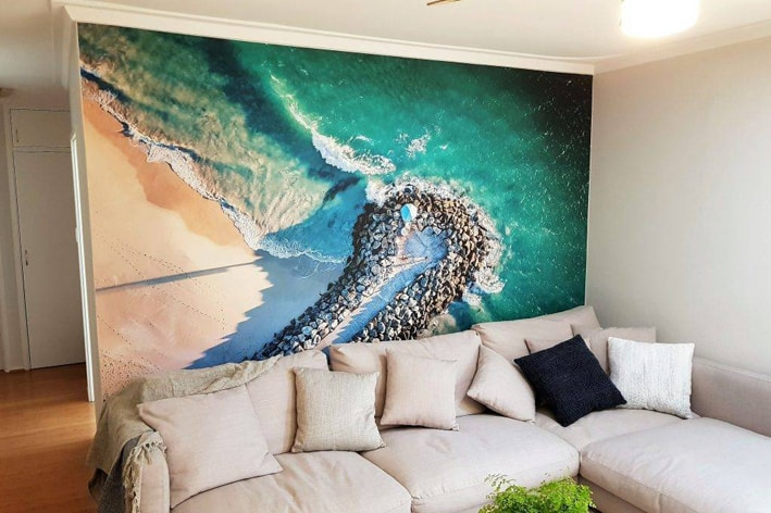 living room feature wall ideas
